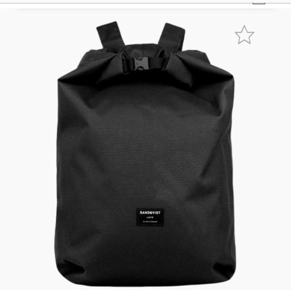 alhainen hinta outlet putiikki Yhdysvallat SANDQVIST Lova Backpack black recycled ripstop NWT